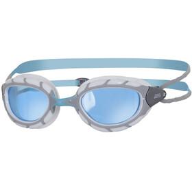 Zoggs Predator Silver/Blue/Tint
